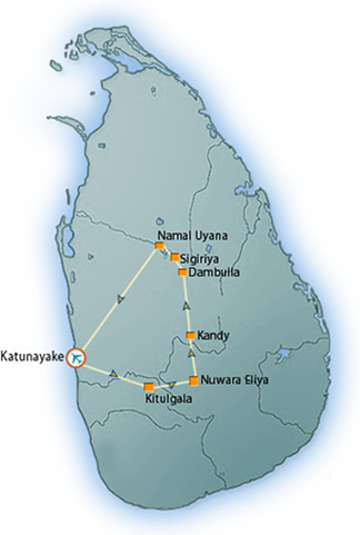 Sri Lanka Adventure Tour with Trek, Birds and flowers